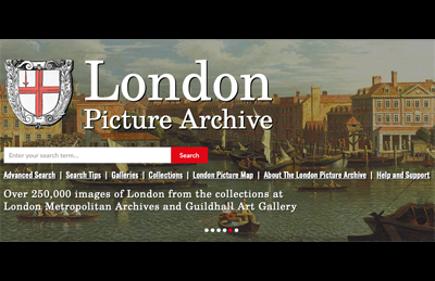 City of London Guildhall Library and Art Gallery using iBase Picture Library System