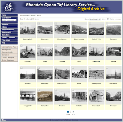Rhondda Cynon Taf Council using iBase Digital Asset Management software