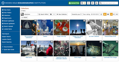 Woods Hole Oceanographic Institute using iBase Video Asset Management Software
