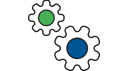 Feature API Cog Logo